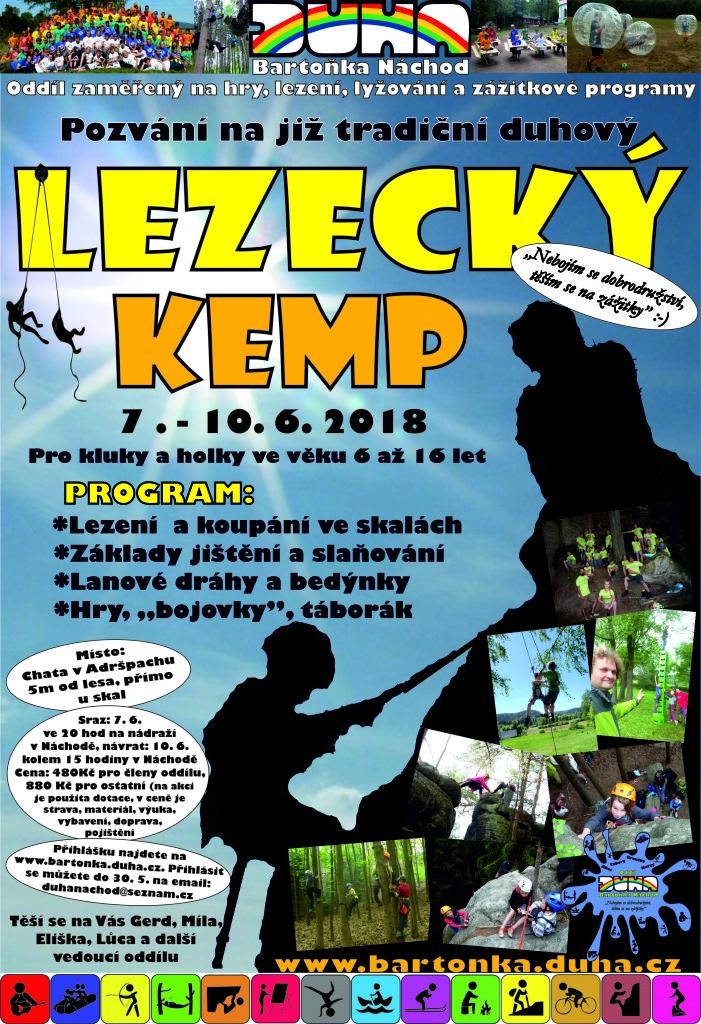Lezecký kemp
