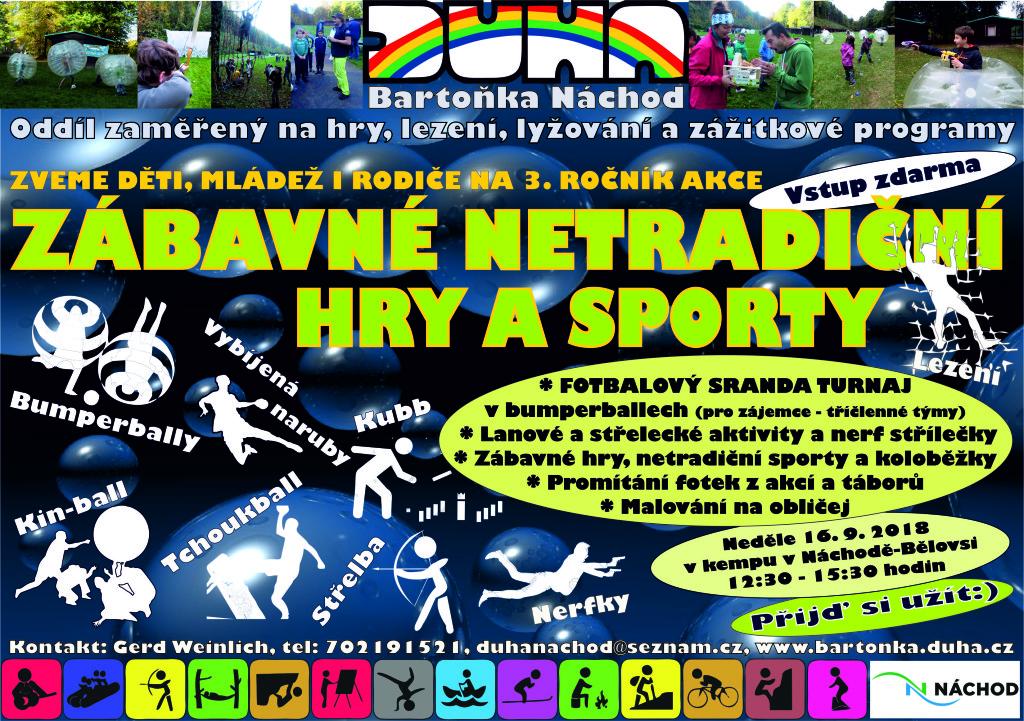 Netradiční sporty a hry