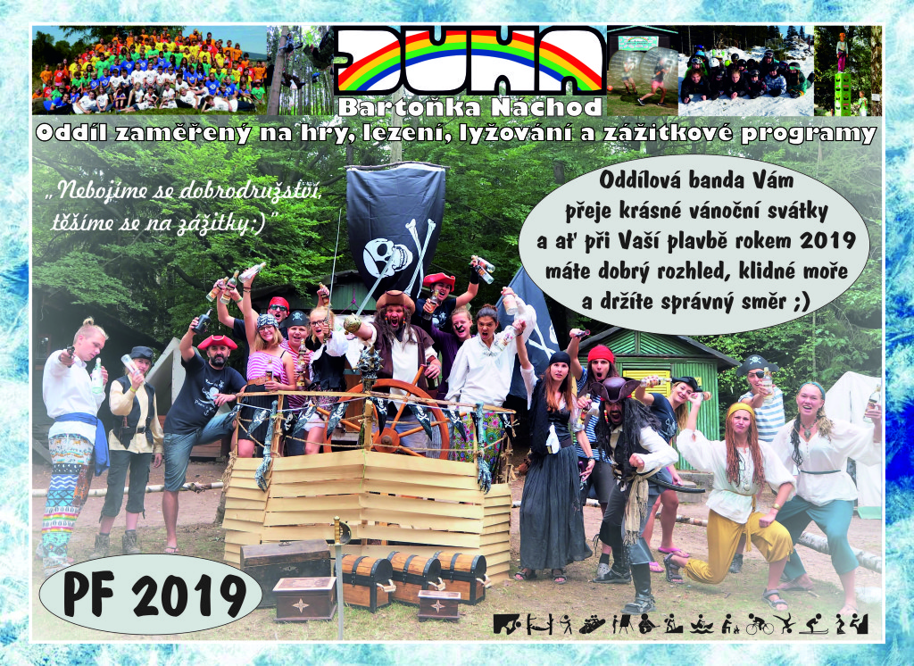PF Oddílu 2019